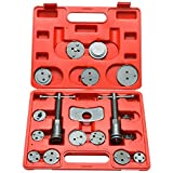 8milelake 18pc Professional Disc Brake Caliper Wind Back Tool Kit