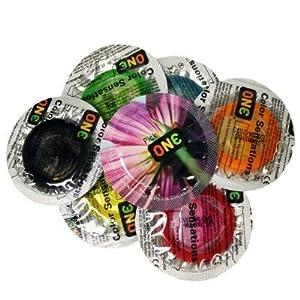 ONE Color Sensations: 36-Pack of Condoms