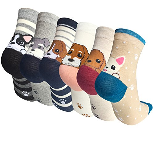 Colorful Cute Animal Socks