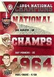 2012 Upper Deck Alabama National Champions Triple #NCTNPC Ray Perkins Paul Crane Joe Namath - Football Card