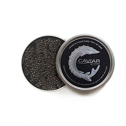 Caviar Russe Siberian Sturgeon Caviar, Acipenser Baerii, Fresh Imported Ultra Premium Caviar, 1. ...