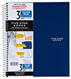 Wholesale CASE of 20 - Mead Five Star Wirebound Notebooks-Notebook, 3-Subject/4-Pocket, 150 Shts, 11''x8-1/2'', Assorted