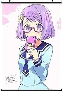 Amazon.com: Aikatsu Stars Koharu Nanakura Megane Seifuku Wara Fabric