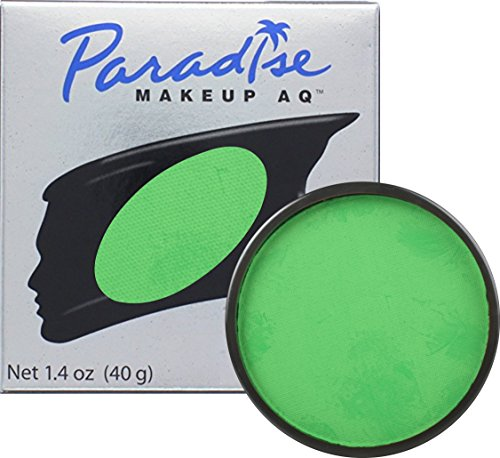 Loftus International Mehron Makeup Paradise AQ Face & Body Paint, Amazon Green: Tropical Series - 40Gm Novelty Item