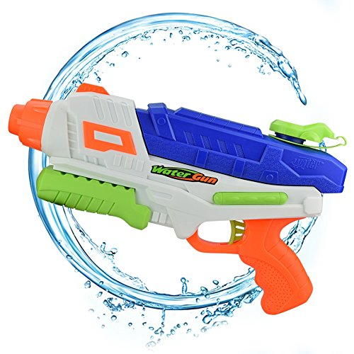 New AMGlobal Water Blaster, Super Soaker Blaster, Water Gun, Water Pistol, Squirt Gun With 34 Feet Shooting Distance 33 Ounces Capacity For Kids For Swimming Party Bath Time for cheap