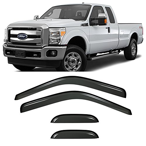 f350 window deflectors - 4