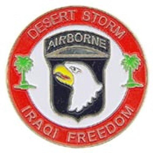 U.S. Army 101st Airborne Iraqi Freedom Pin 1