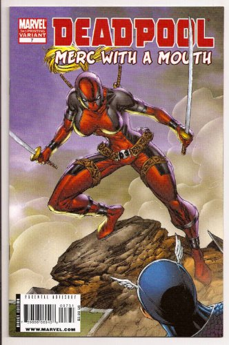 Deadpool Merc With a Mouth 3rd Ptrinting Variant Edition