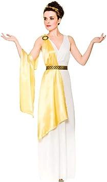 Adulto Mujer Diosa Griega Toga Disfraz Halloween / Carnaval (L ...