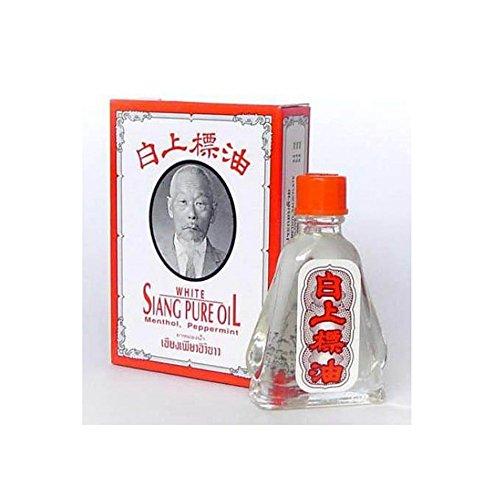 Bálsamo nasal Siang de color blanco puro de agua fría de aceite de eucalipto, aroma de Mentol Thai Herbal