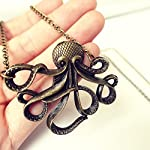 Eternity J. Vintage Retro Necklace Animal Pendant Chain for Women 6