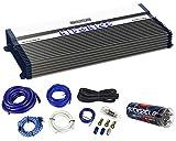 Hifonics BXX2400.1D 2400 Watt RMS Mono Car Amplifier Class D+Amp Kit+Capacitor