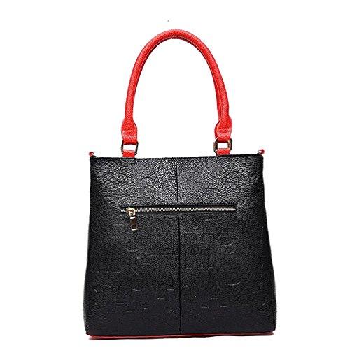 Mano Black Donna Moda Diagonale Borsa A AJLBT Tracolla A f7wUq8TZ