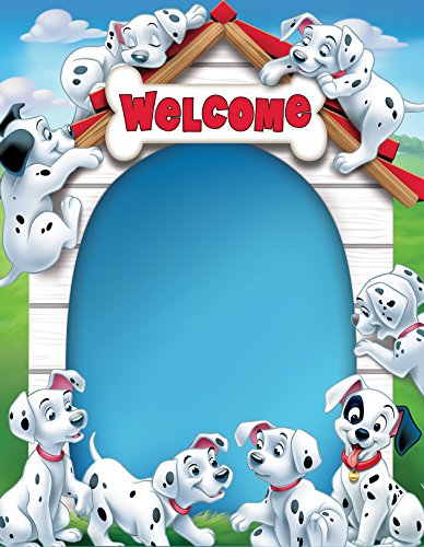 "Eureka 101 Dalmatians Welcome/Blank 17""x22"" Charts (837235)"