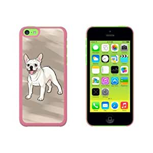 French Bulldog - Pet Dog Snap On Hard Protective Case for Apple iPhone 6 4.7 - Pink