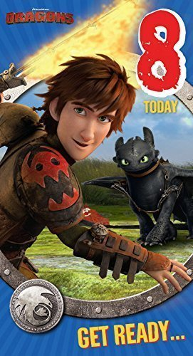 Price comparison product image Danilo How To Train Your Dragon - Age 8 Card