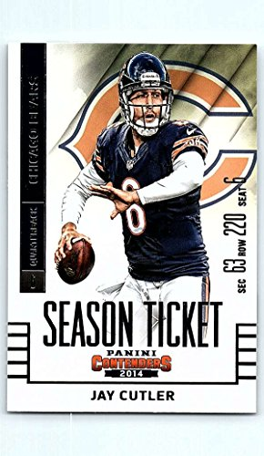 - 2014 Playoff Contenders Season Ticket #4 Jay Cutler NM-MT Chicago Bears Official NFL Football Card