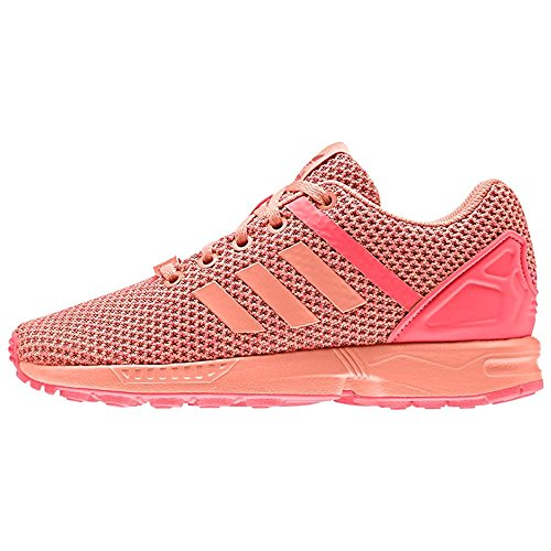 Adidas ZX Flux Split K - AQ6292 - Color Pink - Size: 3.5 by adidas