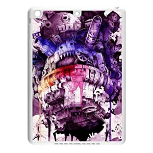CTSLR Howl's Moving Castle TPU Case Cover Skin for iPad Air iPad 5 - 1 Pack - Black/White - 1