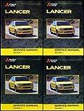 2003 Mitsubishi Lancer Repair Shop Manual Original 4 Vol. set