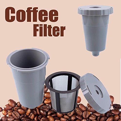 Teabelle Recambio de Filtro de caf Reutilizable para KEURIGIGY My ...