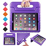 BMOUO Case for iPad 2 3 4 - Kids Case Shockproof Convertible Handle Light Weight EVA Super Protective Stand Cover for iPad 4, iPad 3 & iPad 2 2nd 3rd 4th Generation, Purple