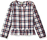 Lucky Brand Big Girls' Long Sleeve Fashion Top, Parker Whisper White, X-Large (16)