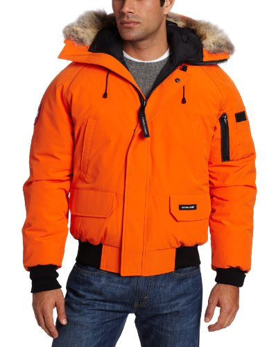 canada goose bomber orange