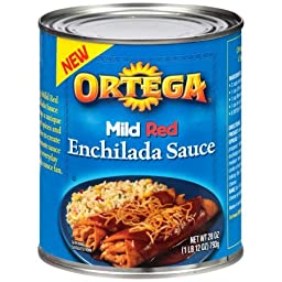 Ortega Mild Red Enchilada Sauce 28 oz Can