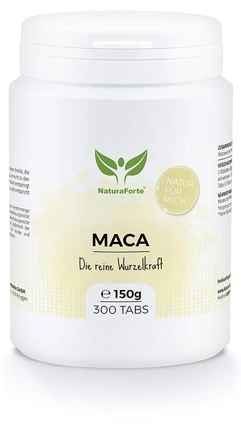 Maca En Cápsulas (300 Tabletas) | Procedente de Perú | Vitamina B, C
