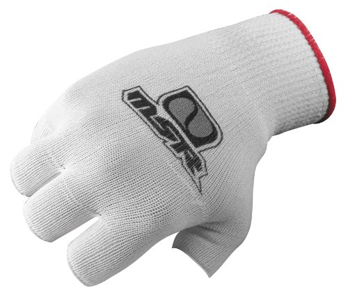 Msr Racing Full Finger Liner Gloves White Small 349093 (Msr Glove)
