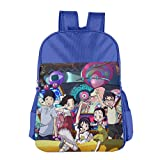 Welcome To The Space Show Children School Backpack RoyalBlue