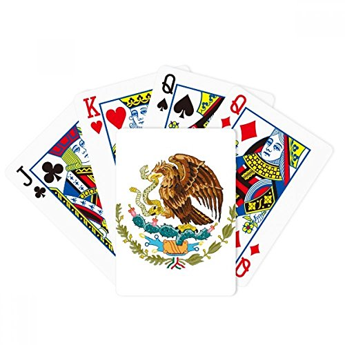 Mexico National Emblem Country Poker Playing Cards Tabletop Game Gift
