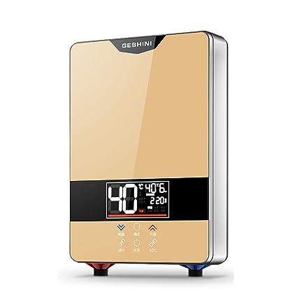 LJ Calentador de agua caliente electrónico de la temperatura constante constante del cuarto de baño 6KW