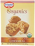 European Gourmet Bakery Organics Cornmeal Muffin Mix, 16.9-Ounce (Pack of 12)