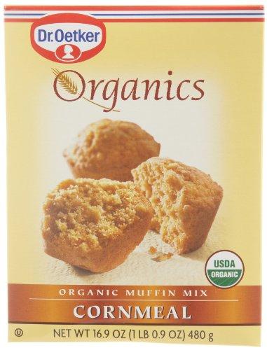 European Gourmet Bakery Organics Cornmeal Muffin Mix, 16.9-Ounce (Pack of 12) by European Gourmet Bakery