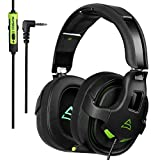 Hitommy Supsoo G818 Gaming Headset Headphone 3.5mm Pure Stereo Over-ear Microphone Line Control