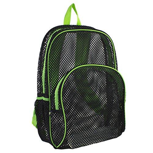 eastsport-mesh-backpack-black-green