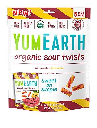 YumEarth Organic Gluten Free Sour Twists 5 Snack