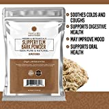 Slippery Elm Bark Powder, 1 lb. Soothes Sore Throat & Coughing, Non-GMO & Gluten-Free, Product of The USA
