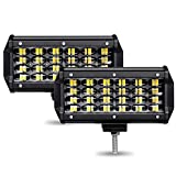 AMBOTHER LED Light Bar 7-Inches 24000-Lumen