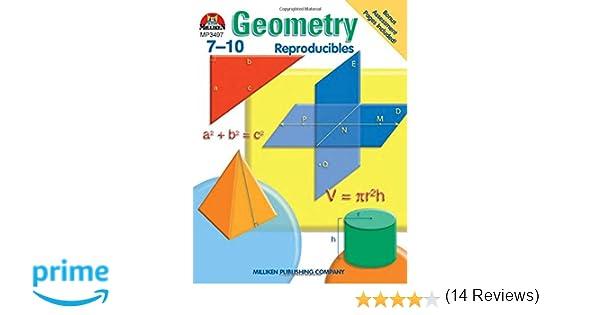 Counting Number worksheets geometry worksheets year 9 : Geometry - Grades 7-10: Sara Freeman: 9780787705947: Amazon.com: Books