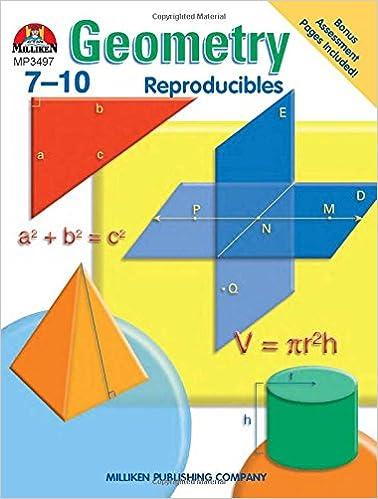 Geometry - Grades 7-10: Sara Freeman: 9780787705947: Amazon.com: Books