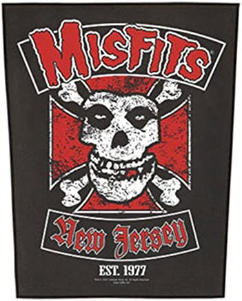 Misfits Metal Rock Punk Music Band SewIron On patch Bags Biker Badge A1231