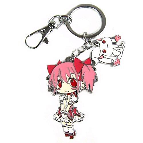 Animal Anime Puella Magi Madoka Magica Metal Figure Keychain ()