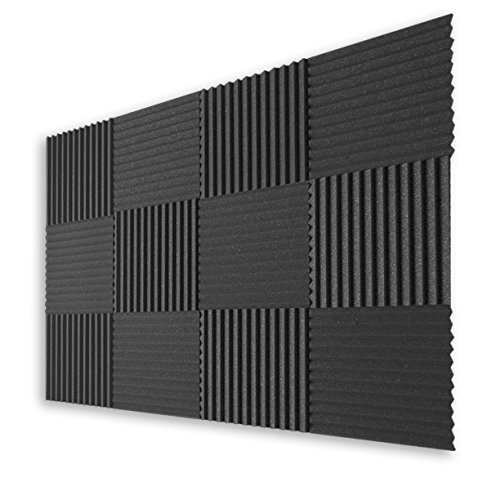 12-pack-acoustic-panel-studio-foam-music-wedges-1x12x12-charcoal