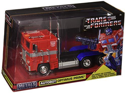 Jada 1: 24 W/B - Metals - Transformers - G1 Autobot Optimus Prime Toy, Multicolor