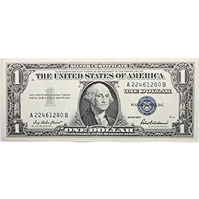 1957 Plain Silver Certificate in Very Good Condition: Everything Else