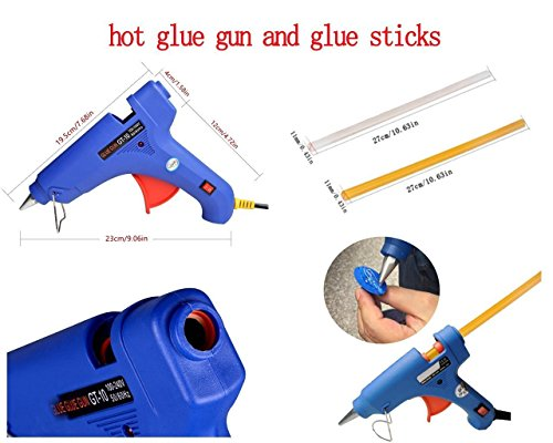 AUTOPDR NEW 100W 100V-240V High Temperature Hot Melt Glue Gun Automatic Temperature Heating Power Fast Heat Tool by AUTOPDR (Image #2)