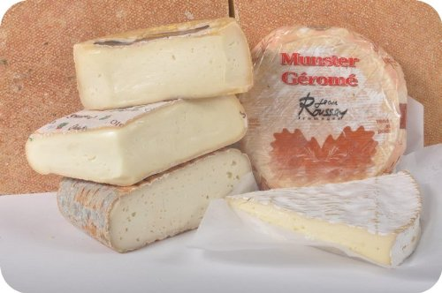 Pungent Cheese Assortment - 5 Cheeses (8 oz Each) by Gourmet555 (Image #1)'